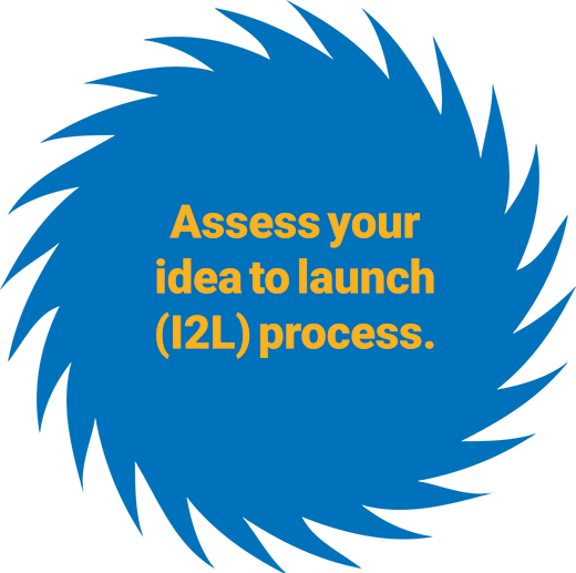 Assess your idea to launch (I2L) process