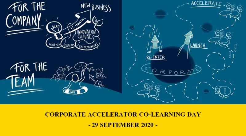 Corporate Accelerator Co-Learning Day on September 29th