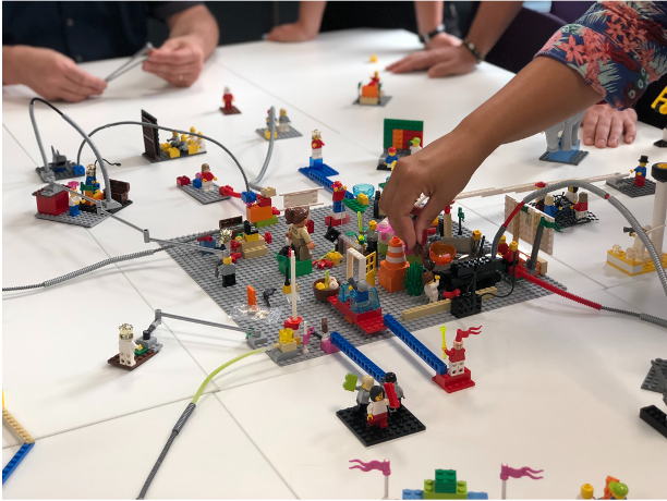 Map out your plan for the new normal way of working using LEGO® Serious Play®
